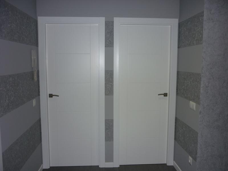 Puertas de paso lacadas en blanco fabulous puertas - Puertas lacadas en blanco ...